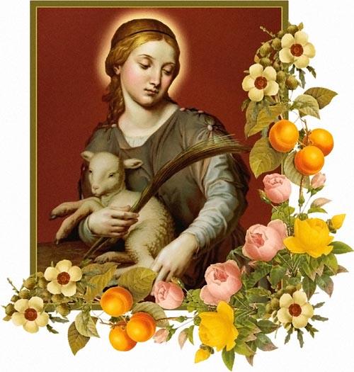Thánh nữ Anê - Bông Huệ Thành Rôma (21/01)