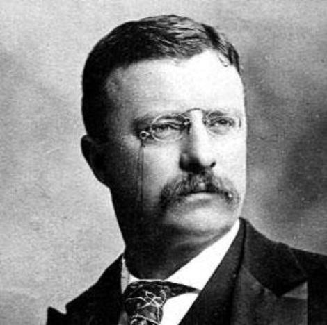 10. Theodore Roosevelt