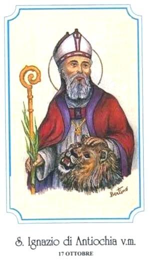 Kính Thánh Inhaxiô / Giám mục thành  Anti-ôkhi-a (17/10)