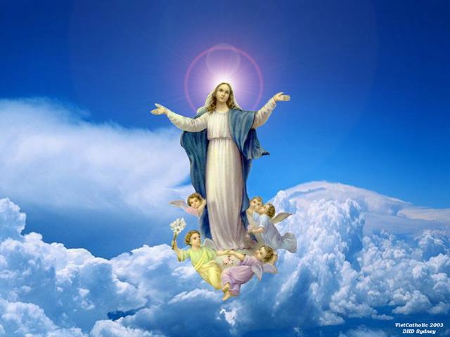Lễ Đức Mẹ lên trời / Mẹ Maria là tuyệt phẩm của Thiên Chúa