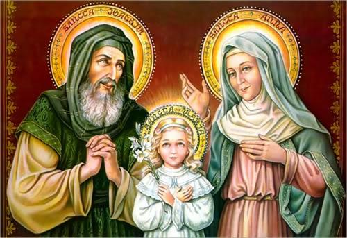 Thánh Gioakim (Joachim) và Thánh Anna (Anne) (26/7)