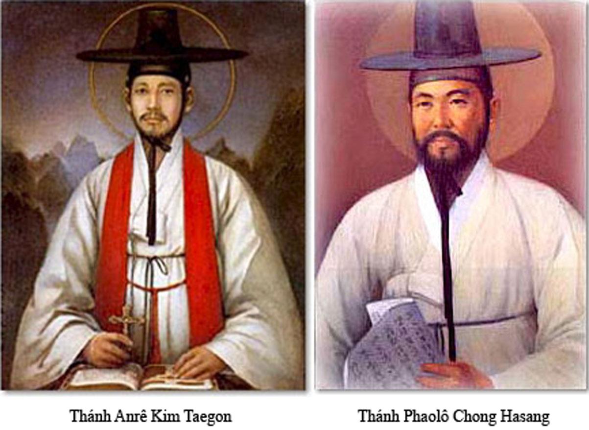 Thánh Anrê Kim Têgon, Thánh Phaolô Chong Hasang và các bạn (20/09)