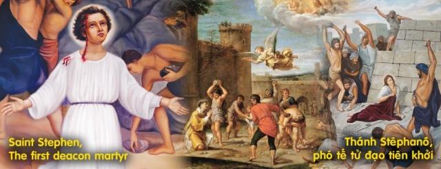 Thánh Stephano - Tử đạo Tiên khởi (26/12)