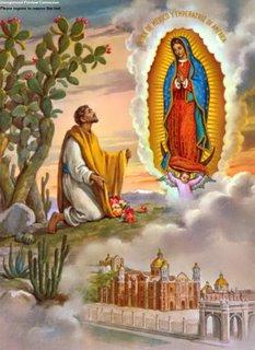 Đức Mẹ Guađalupê, Mexico (12/12)