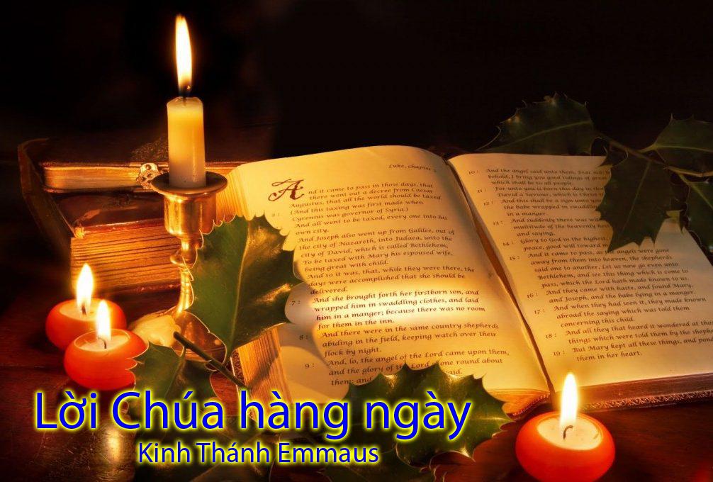 CHIA SẺ LỜI CHÚA HẰNG NGÀY / THỨ BẢY  / NGÀY 09 NOV / TN C