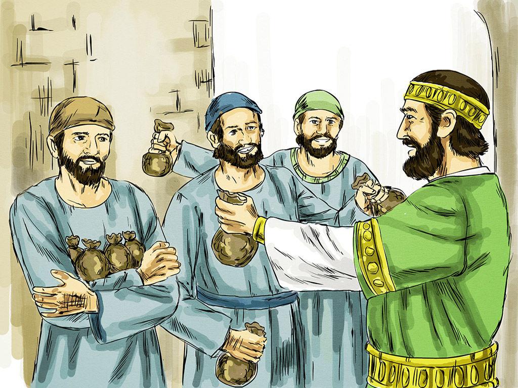 Tìm hiểu và sống Tin Mừng CN 33 Thường Niên A (Giuse Luca)
