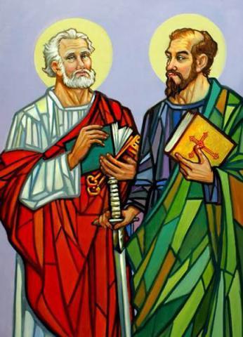 Lễ kính 2 Thánh Phê-rô và Phao-lô - 29/06