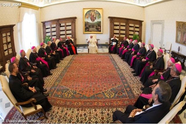 Đức Thánh Cha tiếp kiến 17 Giám Mục Dominicana