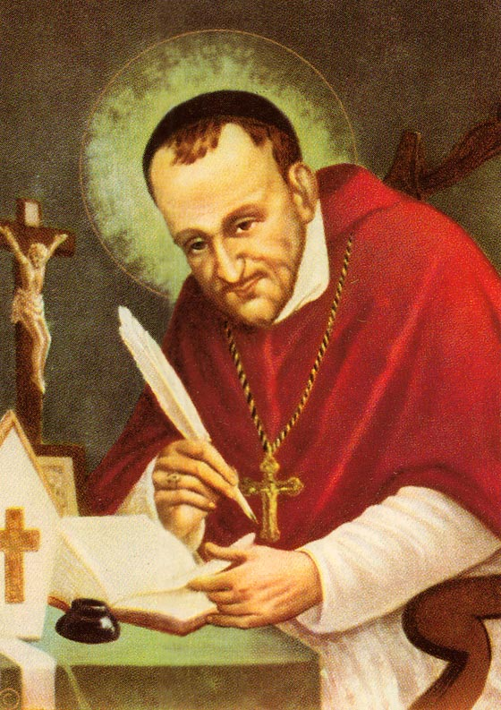 Lễ kính Thánh Alphonso Liguori (01/08)