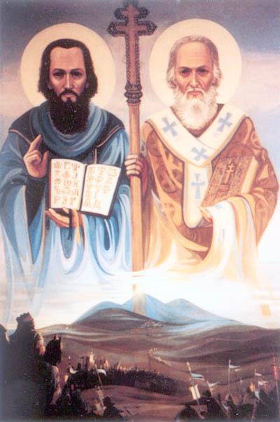 Thánh Cyrillô và Thánh Mêthôđiô (14/02)