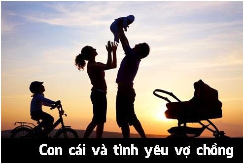 65/  Con cái và tình yêu vợ chồng