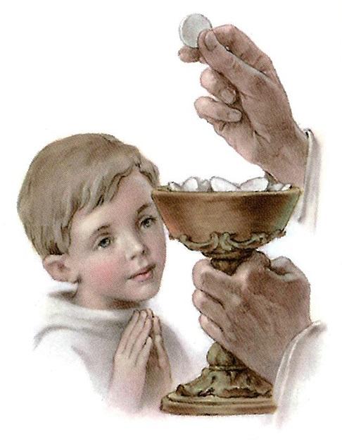 Tâm tình khi lên rước lễ