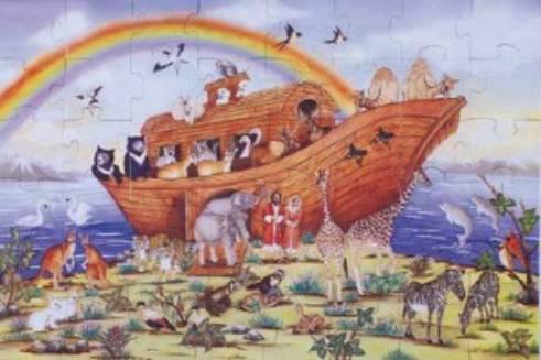 1/ Bí ẩn Đại Hồng Thủy và con tàu của No-e