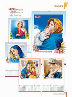 Lịch Công Giáo Tháng 09/2015