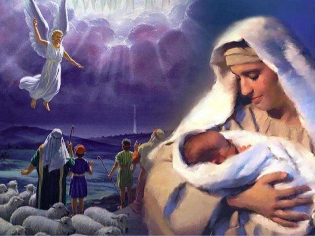 TH&TH TM Lễ Mừng kính  Mẹ Thiên Chúa - 01 /JANUARY / GIuse Luca /