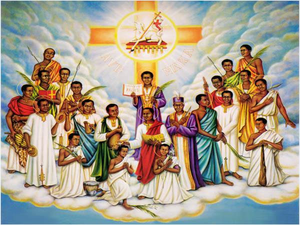 Thánh Carôlô Lwanga và các bạn tử đạo (03/06)